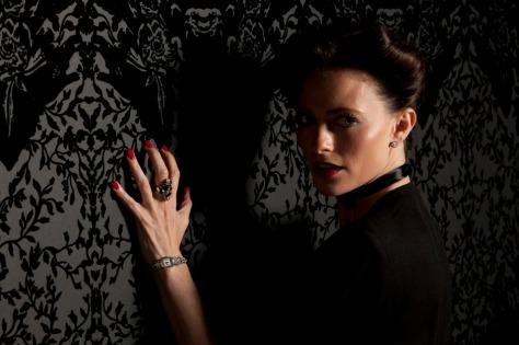 """Irene Adler as seen in the BBC's """"Sherlock"""""""