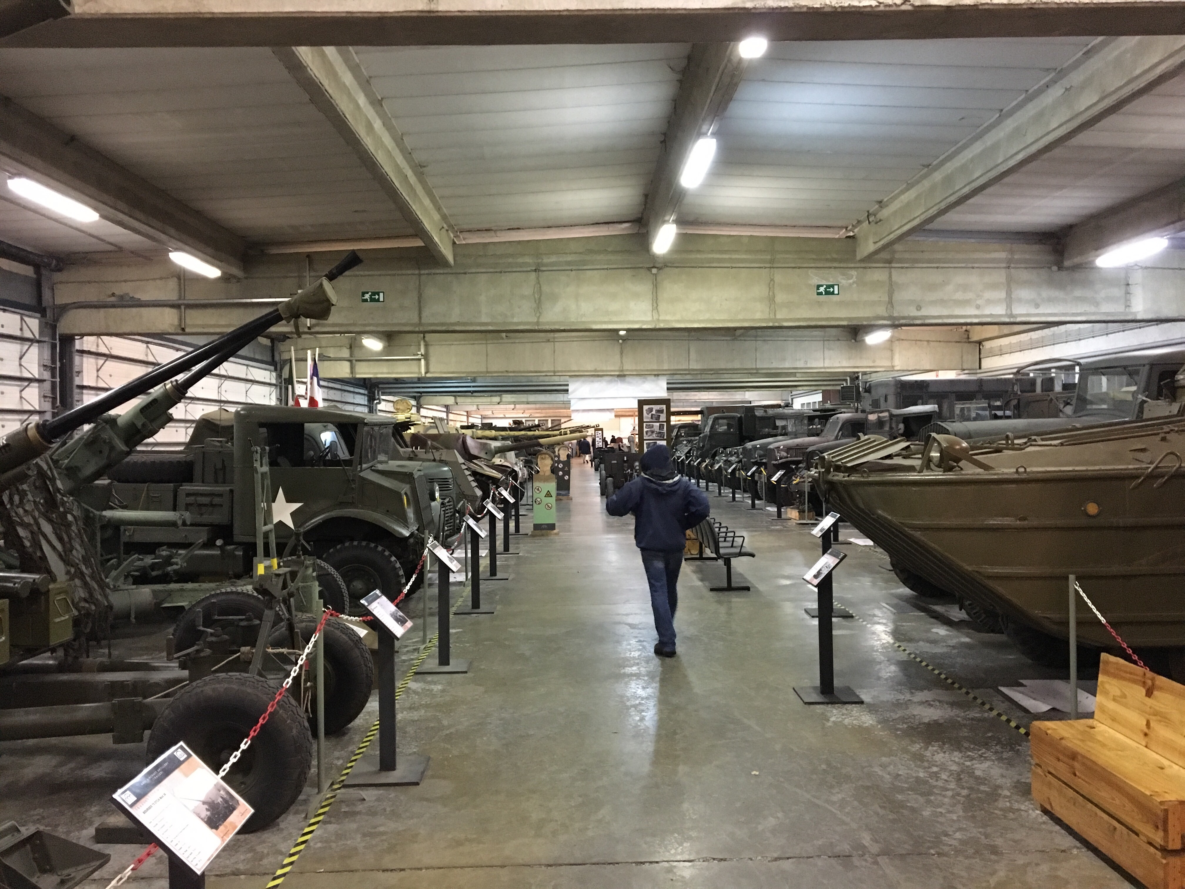 All the tanks, and other stuff too.