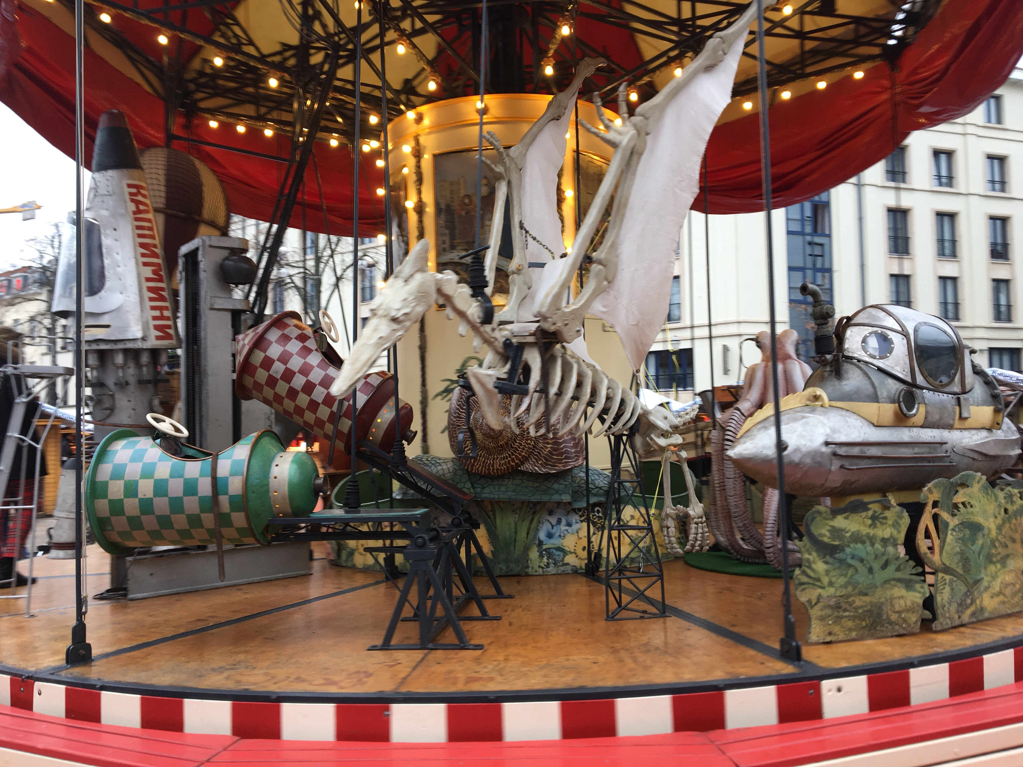 More fairground rides should attempt to scare children away.