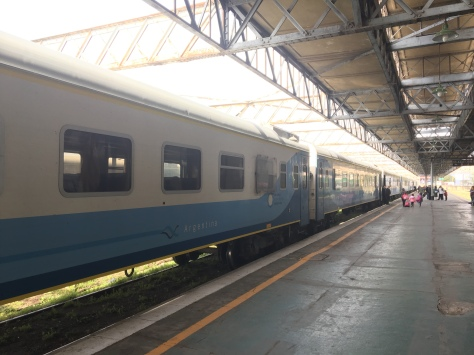 The train from Cordoba to Argentina.