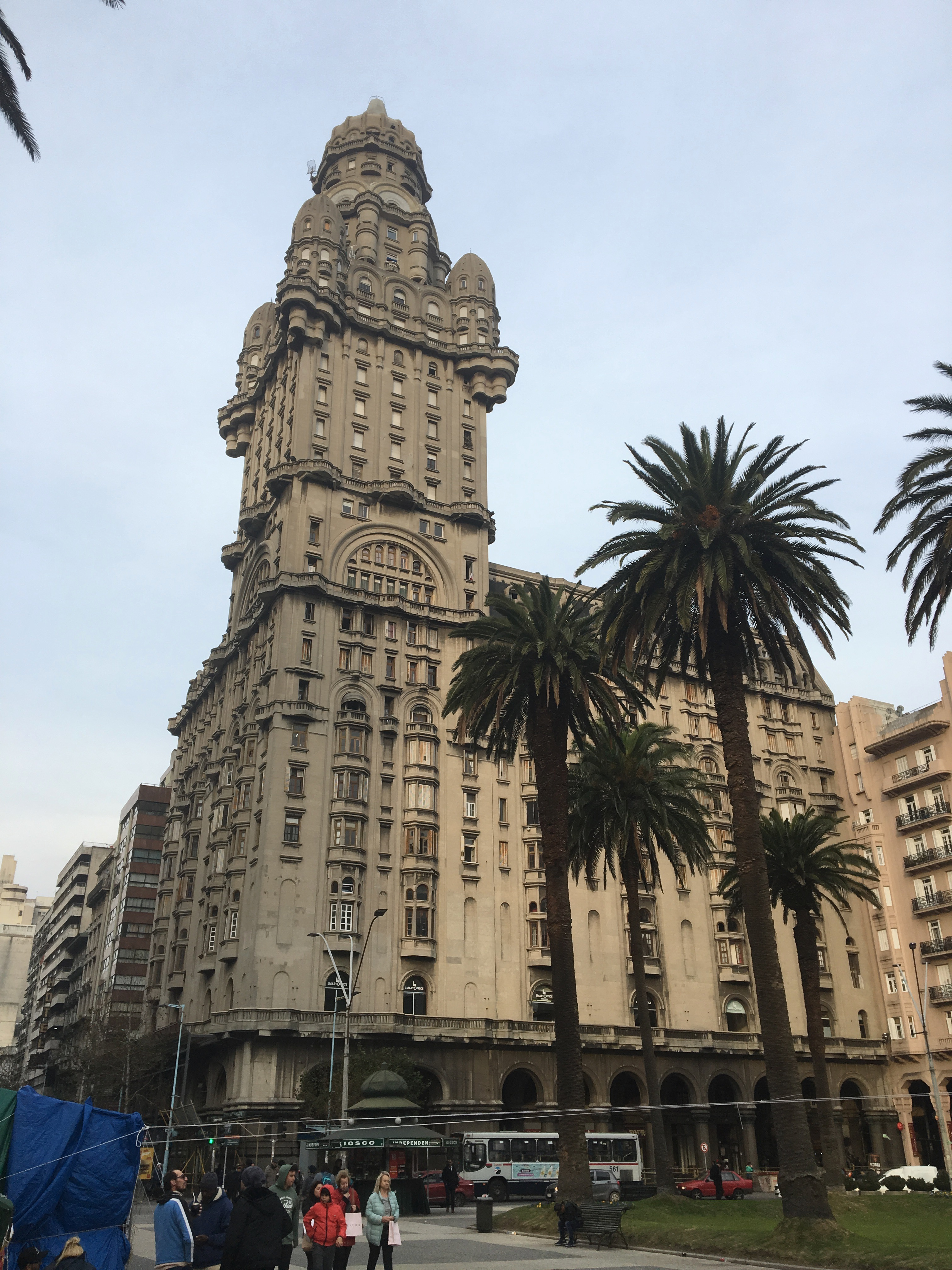 Still the most impressive building on Montevideo's main plaza.
