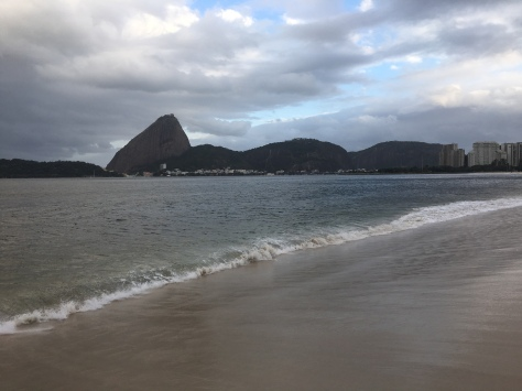 The Sugarloaf from Flamengo Beach
