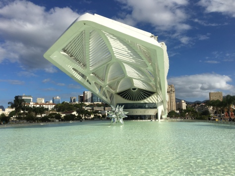 The Museum of Tomorrow in Rio.